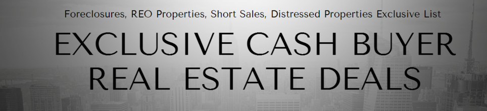 Cash Buyers Lists - Exclusive Cash Buyer Real Estate Deals