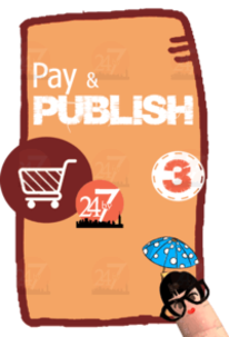 Pay and publish your book with 24by7publishing.com