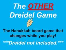 The Other Dreidel Game for Hanukkah