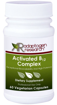 Adaptogen Research, Activated B12 Complex