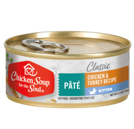 Chicken Soup Chicken & Turkey Kitten Cat Food
