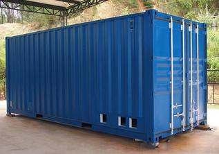 Midwest Conex Boxes Storage Solutions GLO Office Trailers and