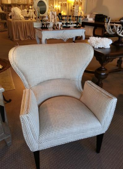 C. R. Laine bespoke custom arm chair new