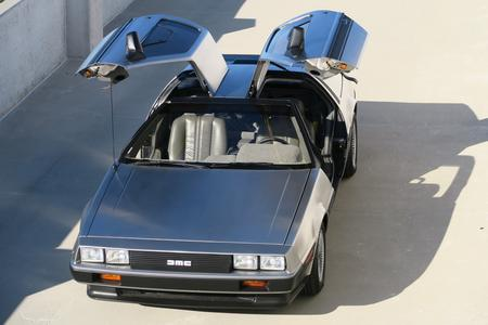 1981 DeLorean DMC-12 for sale at Motor Car Company in San Diego California First Year Model Low Mileage Example Extremely Rare Automatic Transmission