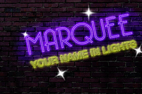Marquee Your Name In Lights Dance Competition