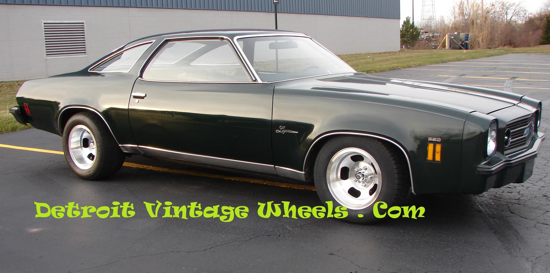 Detroit Vintage Wheels Acutal Vintage Wheels Custom Restored ...