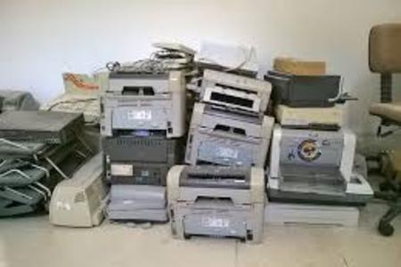 Printer Recycling Printer Removal Electronics Removal Disposal Printer TV Computer Monitor Service And Cost | Omaha NE | Omaha Junk Disposal