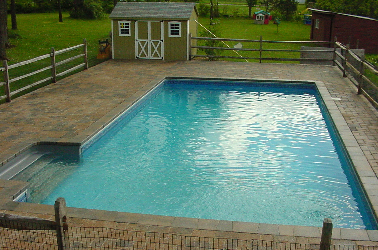 pools and patios view on mobile - Inground Pool Patio Designs