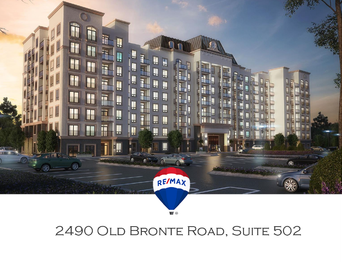 Feature Sheet: 1 Bedroom Suite Condo For Sale at Mint Condos - 2490 Old Bronte Road, Oakville