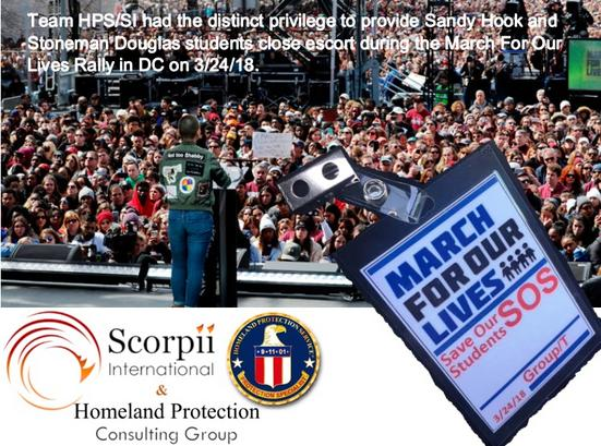 HPS provided event security / executive protection for Sandy Hook.
