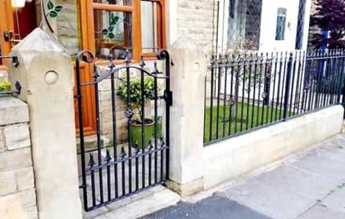 Metal Gates and Railings in Greenmount Bury