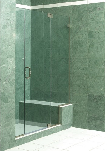 Glass Mirrors Custom Shower Enclosure Shapiro Glass Corp