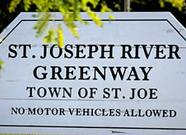River Greenway, Town of St. Joe, Indiana