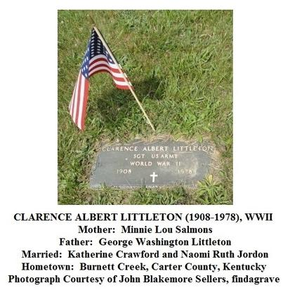 Carter County, Kentucky Military Legacy