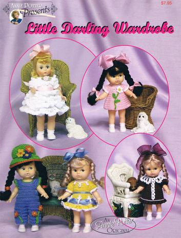 Crochet doll clothes pattern
