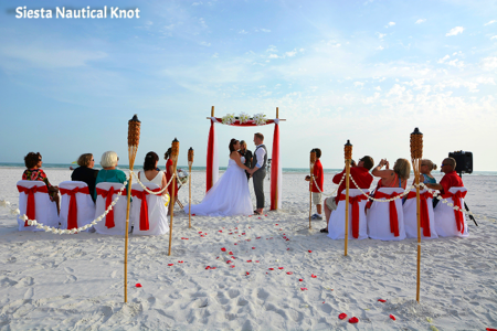 Siesta Key Nautical Knot - Your Florida Beach Wedding