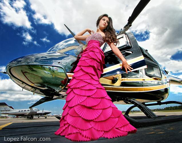 Quinces Dresses Miami QUINCEANERA WITH AIRPLANE HELICOPTER MIAMI QUINCES