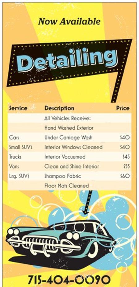 Express detailing copyright eau claire car wash solutioingenieria Choice Image