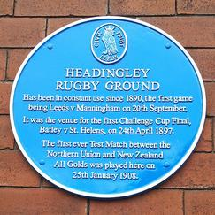 Headingley Plaque