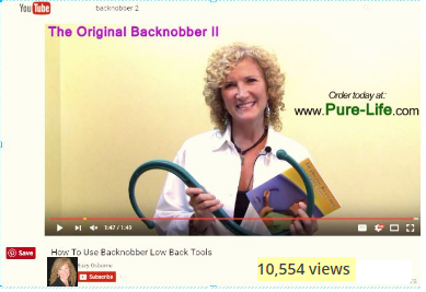 Dr. Suzy Osborne explains how to use Backnobber tool trigger point