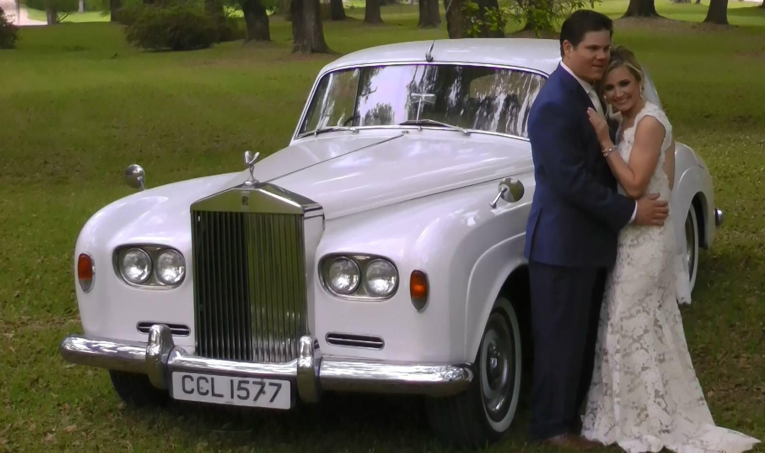 Rolls Royce Antigue Classic Car Wedding Transportation Baton Rouge