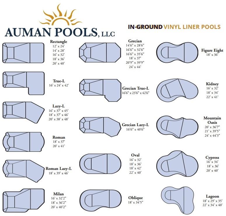 Swimming Pool Designs by Auman Pools - Fiberglass Pools