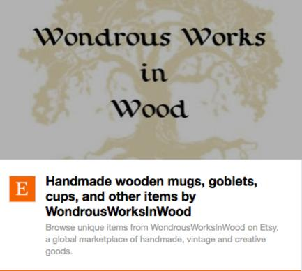 Wonderous Works in Wood