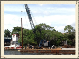 Pile Driver - Dredging Company