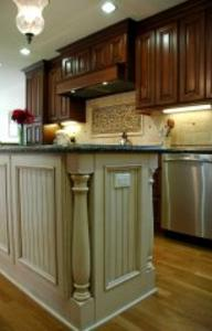 Kitchen Island post