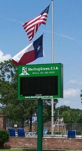 Park Pavilion Tennis Courts Sterling Green Community Improvement Association