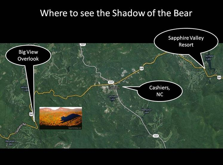 Shadow of the Bear,, Maps about Sapphire Valley Resort, High South Adventures