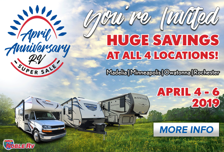 Noble RV April Anniversary Open House