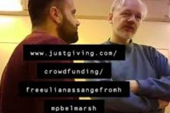 crowedfunding for Julian Assange