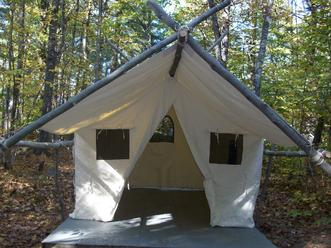 picture of cabin tent