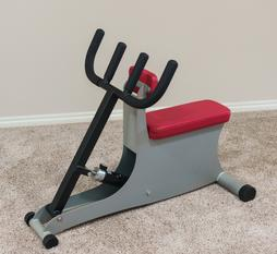seated low row chest press hydrafitness hydra-gym aerostrength hydraulic exercise rehab machine