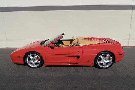 1999 Ferrari F355 F1 Spider for sale at Motor Car Company in San Diego California
