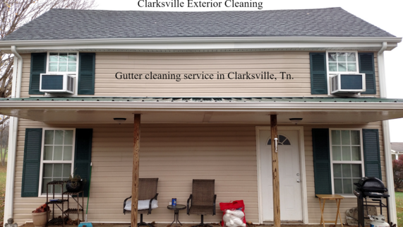 Gutter cleaning service near me in Clarksville, Tn.