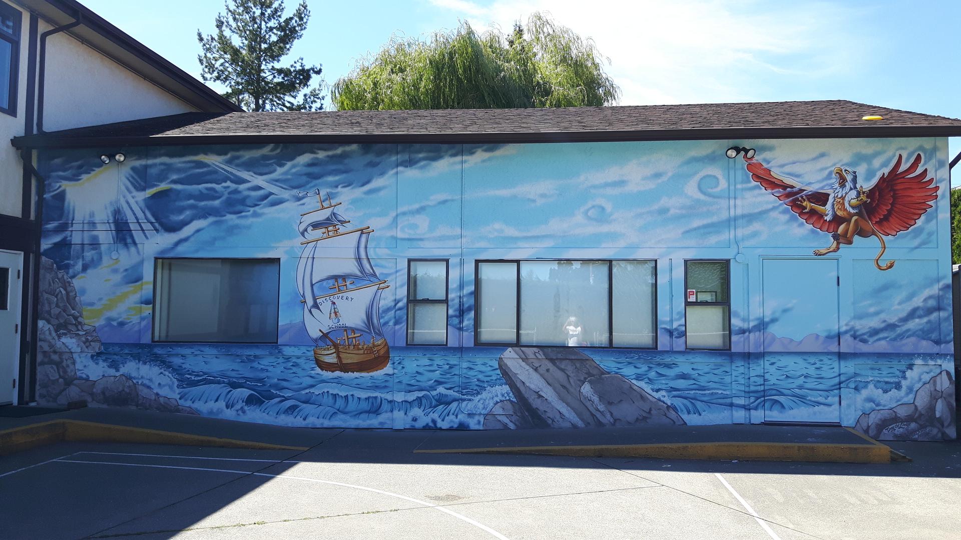 mural step by step delange airbrush