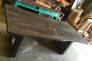 Live Edge River Slab Wood Dining Tables