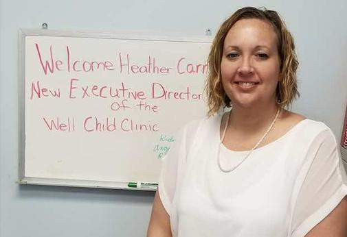 Heather Carr, Exec, Director, Well Child Clinic