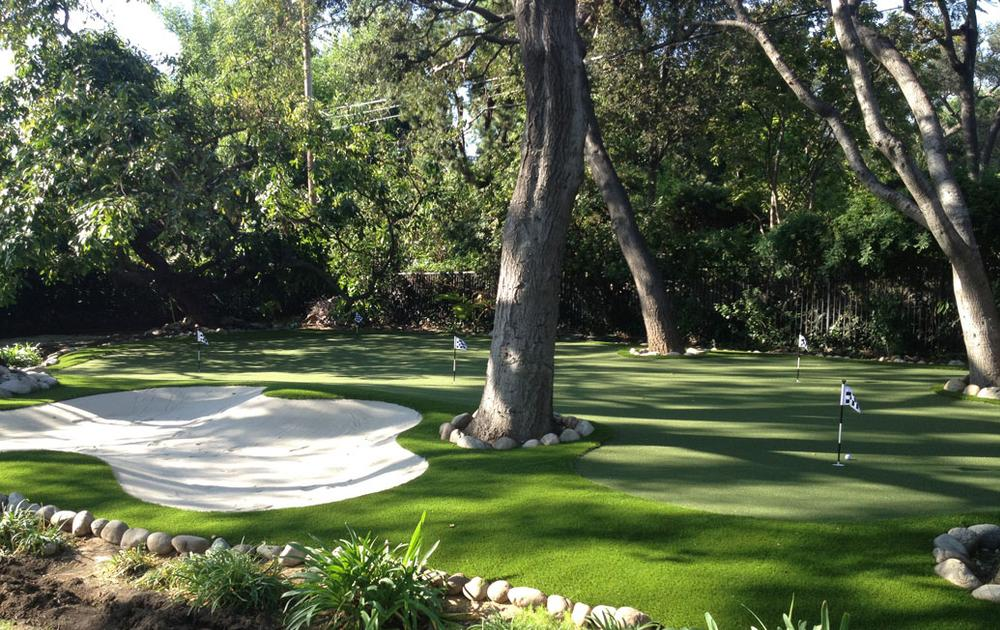 backyard golf artificial turf putting greens synthetic turf