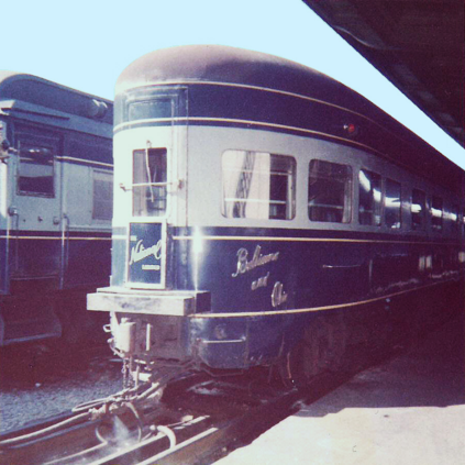 The National Limited's observation car.