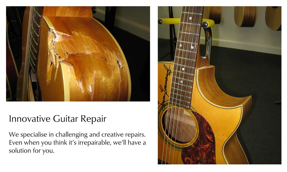 Musical instrument Repairs - Guitarman - Melbourne Vic 3178