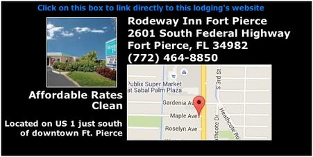 Rodeway Inn, 2601 South Federal Highway, Fort Pierce, Blind Creek Beach, nude beach, naturist beach, free beach, clothing optional beach, naturism, nudism, nudist, nudie, Treasure Coast Naturists, Hutchinson Island, Fort Pierce, Ft Pierce, St Lucie County