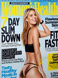 Lynda Cheldelin Fell Womens Health magazine