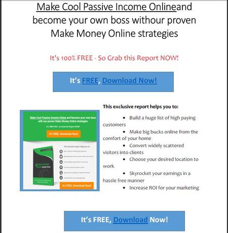 Special Free Report
