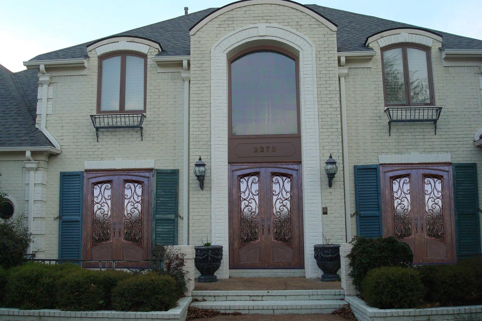 Iron Doors Custom Doors Quantum Entries Memphis Tn