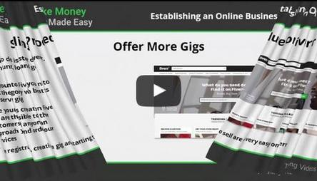 Establishing an online business empire with Fiverr..