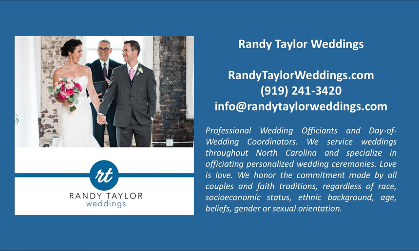 Randy Taylor Weddings Castle McCulloch Preferred Vendor