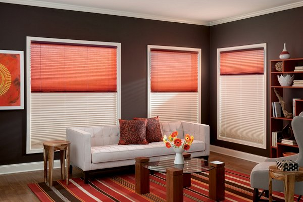 inside for intended blinds red window windows ideas roller home pinterest